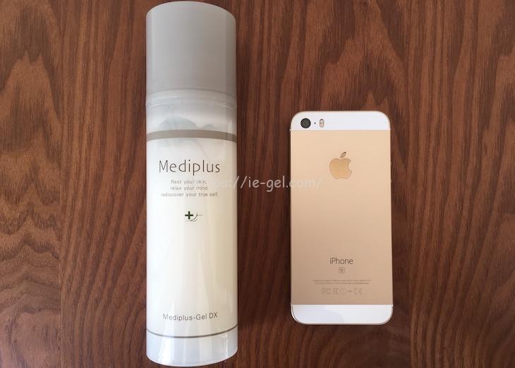 メディプラスゲルDXをiPhoneSEと比較